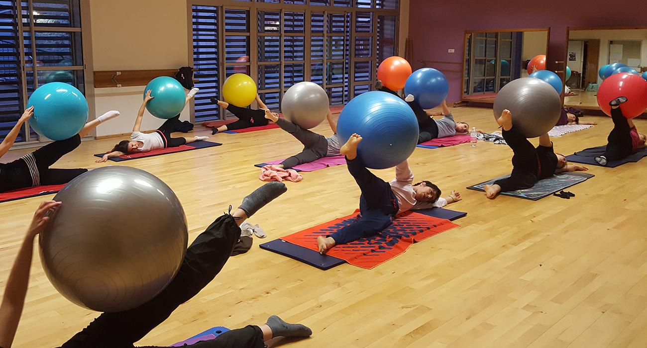 Pilates Swiss Ball